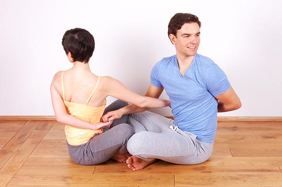 Partneryoga Yoga für Paare Yogakurse in Augsburg